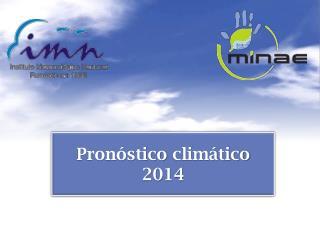 Pronóstico climático 2014