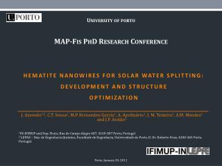 Hematite nanowires for solar water splitting: development and structure optimization