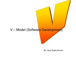 V   Model Software Development