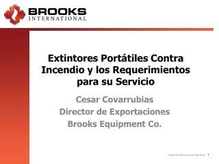 Extintores Portátiles Contra Incendio y los Requerimientos para su Servicio