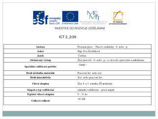 ICT 2_2/20