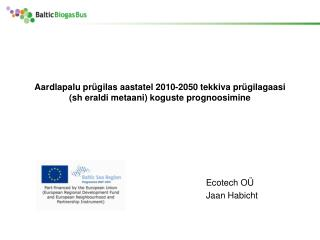 Ecotech OÜ Jaan Habicht