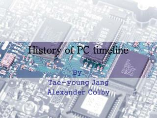 History of PC timeline