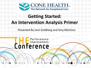 Getting Started:  An Intervention Analysis Primer