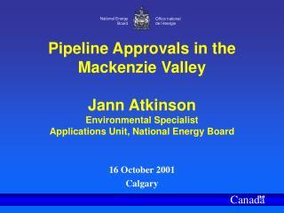 16 October 2001 Calgary