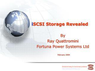 i SCSI Storage Revealed
