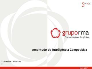 Amplitude de Inteligência Competitiva