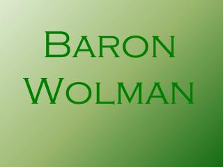 Baron Wolman