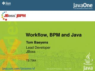 Workflow, BPM and Java