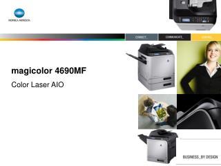 magicolor 4690MF Color Laser AIO