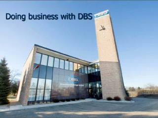 Doing business with DBS