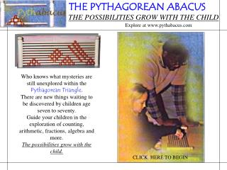 THE PYTHAGOREAN ABACUS