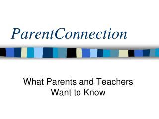 ParentConnection
