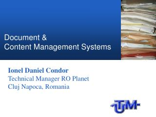 Document & Content Management Systems