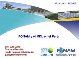 FONAM y el MDL en el Perú