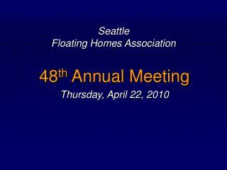 Seattle Floating Homes Association