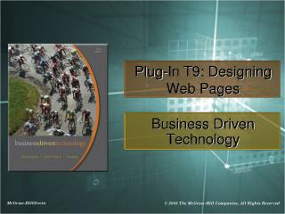 Plug-In T9: Designing Web Pages