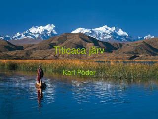 Titicaca järv