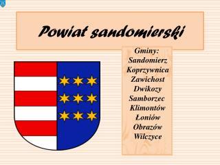 Powiat sandomierski