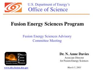 U.S. Department of Energy's Office of Science