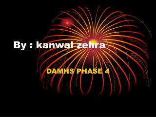 By : kanwal zehra