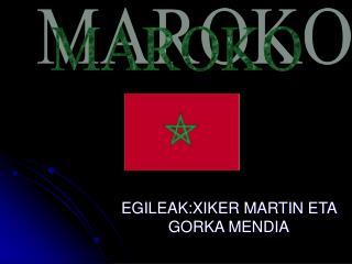 EGILEAK:XIKER MARTIN ETA GORKA MENDIA