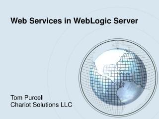 Web Services in WebLogic Server