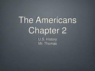The Americans Chapter 2