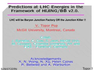 LHC will be Baryon Junction Factory OR the Junction Killer !!