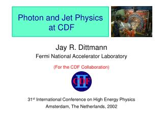 Photon and Jet Physics  at CDF