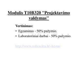 Modulis T10B320