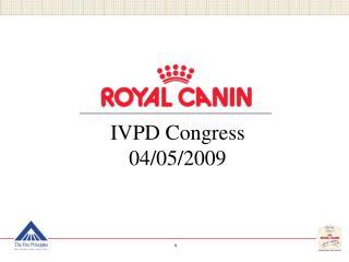 IVPD Congress 04/05/2009