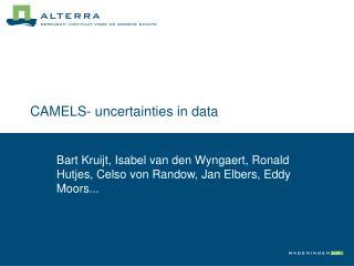 CAMELS- uncertainties in data