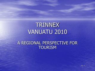 TRINNEX VANUATU 2010