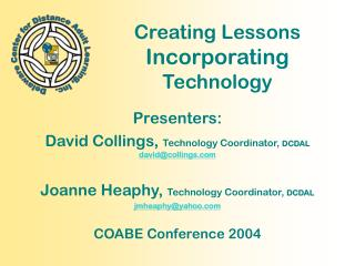 Creating Lessons  Incorporating  Technology