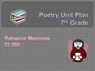 Poetry Unit Plan 7th Grade