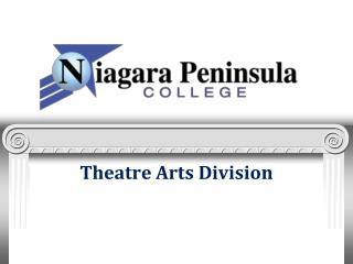 Theatre Arts  Division
