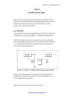 Modul 11 – Hendi Hermawan - 1