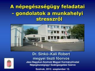 Jász-Nagykun-Szolnok Megyei Kormányhivatal Népegészségügyi Szakigazgatási Szerve