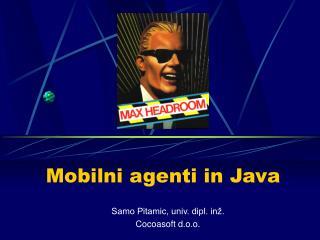 Mobilni agenti in Java