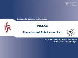 VISLAB Computer and Robot Vision Lab