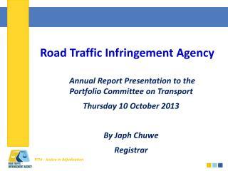 Road Traffic Infringement Agency