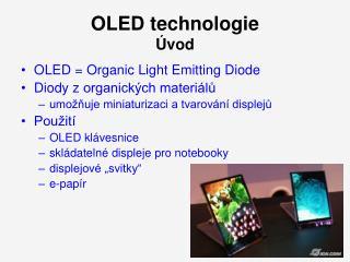 OLED technologie Úvod