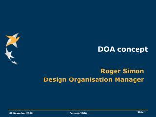 DOA concept