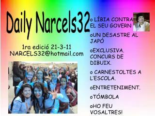 1ra edici� 21-3-11 NARCELS32@hotmail