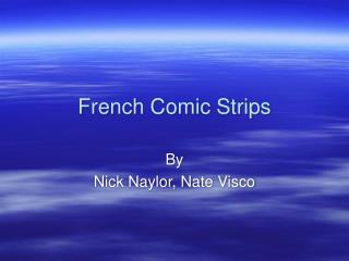 French Comic Strips