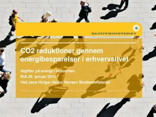 CO2 reduktioner gennem energibesparelser i erhvervslivet