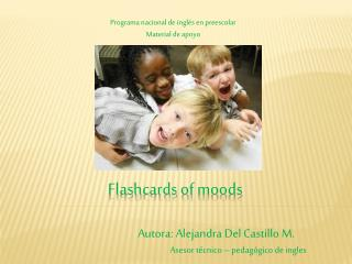 Flashcards  of  moods