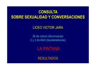 RESULTADOS GENERALES DE LA CONSULTA