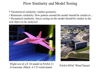 Flow Similarity and Model Testing